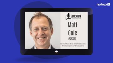 Matt Cole en Cuentos Corporativos