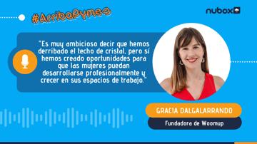 Gracia Dalgalarrando: Hemos creado oportunidades para que las mujeres puedan desarrollarse profesionalmente y crecer en sus espacios de trabajo