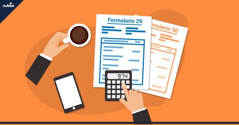 F29 y F50: ¿cómo hacer una declaración de impuestos mensual?