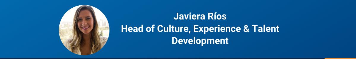 Recomendaciones de Javiera Ríos para trabajar desde casa