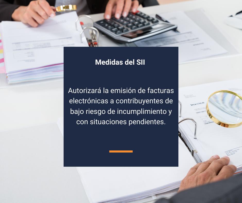 Medidas del SII para apoyar a las PYMES