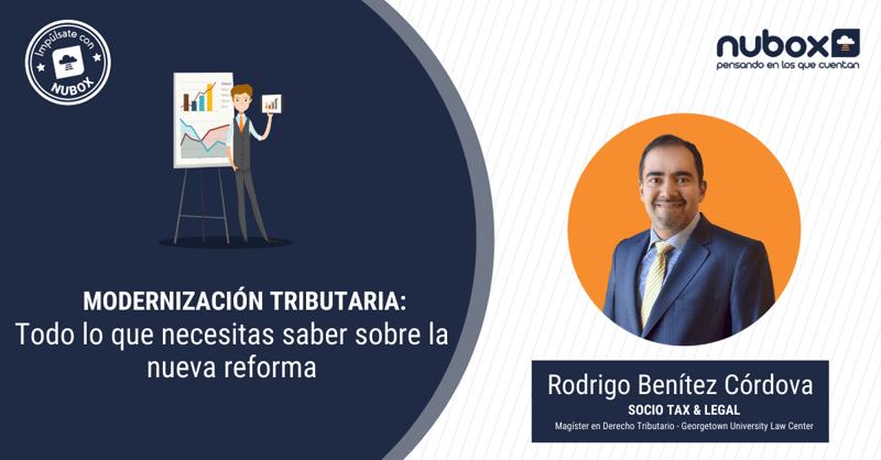 [Webinar gratuito] Modernización Tributaria: las claves de la nueva reforma