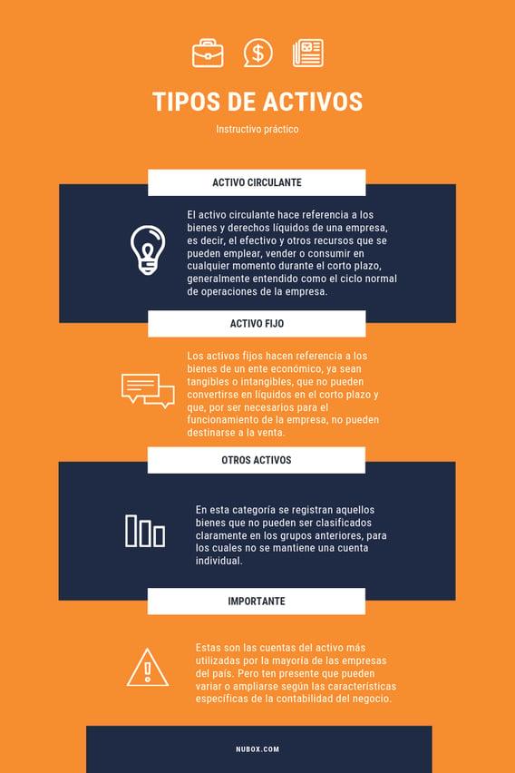 Infografía -  ¿Cuáles son las cuentas del activo?