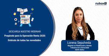 [Webinar]: Prepárate para la Operación Renta 2020