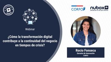 [Webinar Gratuito] ¿Cómo la transformación digital contribuye a la continuidad del negocio?
