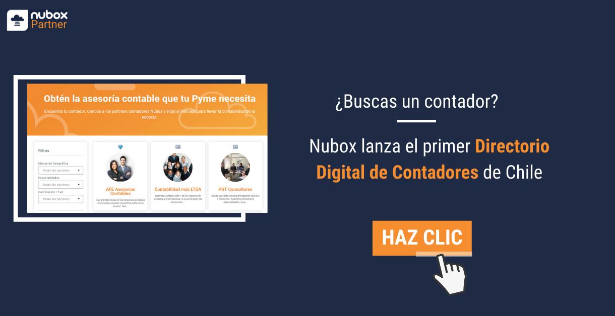 ¿Buscas un contador? Nubox lanza el primer Directorio Digital de Contadores de Chile