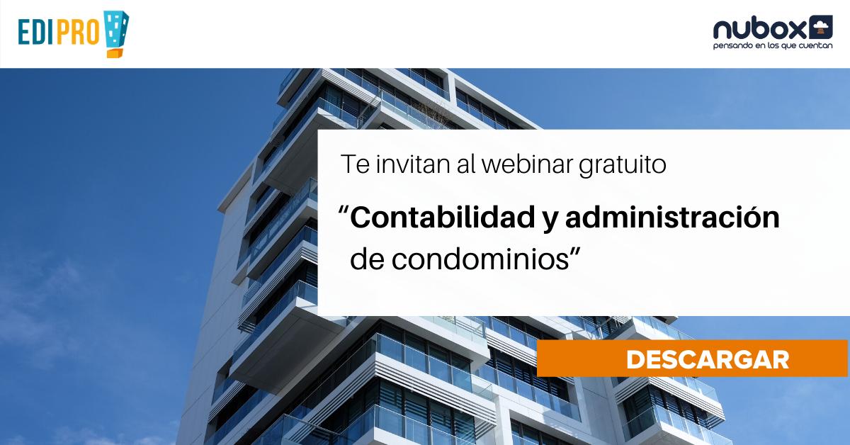 [Webinar Gratuito] Contabilidad y Administración de comunidades.