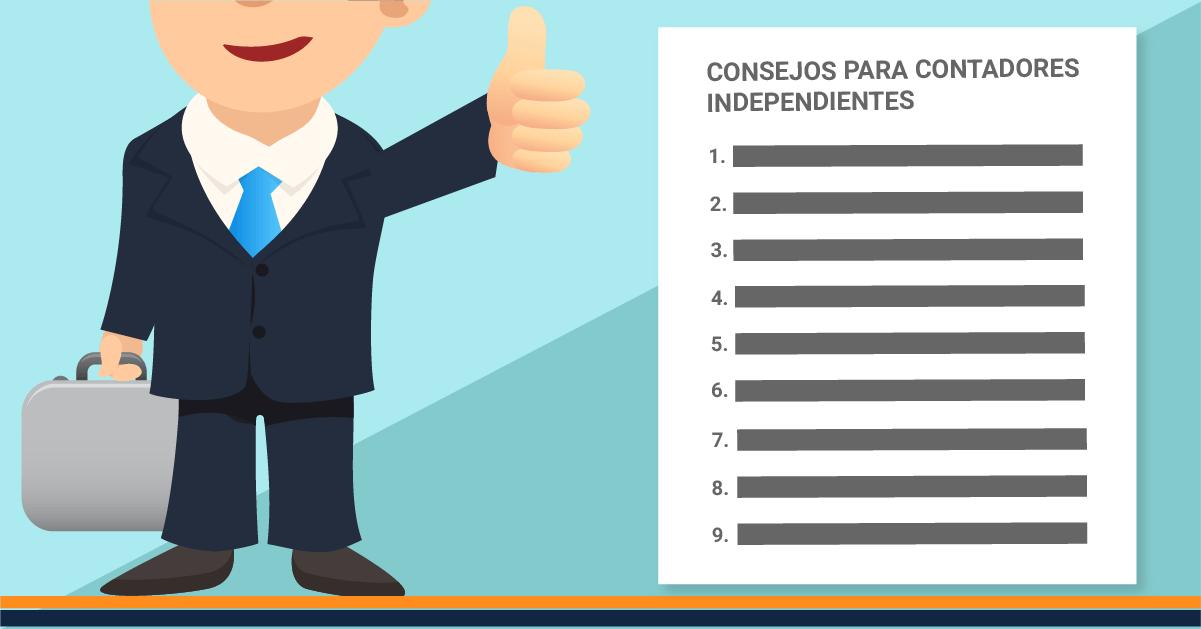 9 consejos para contadores independientes