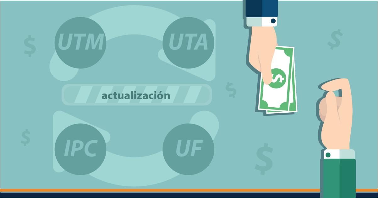 ¿Cuáles son los parámetros del pago de remuneraciones que se actualizan cada mes?