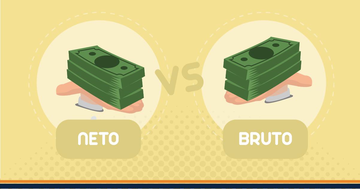 Diferencia entre utilidad neta y utilidad bruta en contabilidad