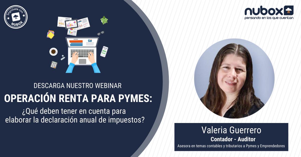 [Webinar Gratuito] Operación Renta para PYMES: ¿Qué deben saber de este proceso?