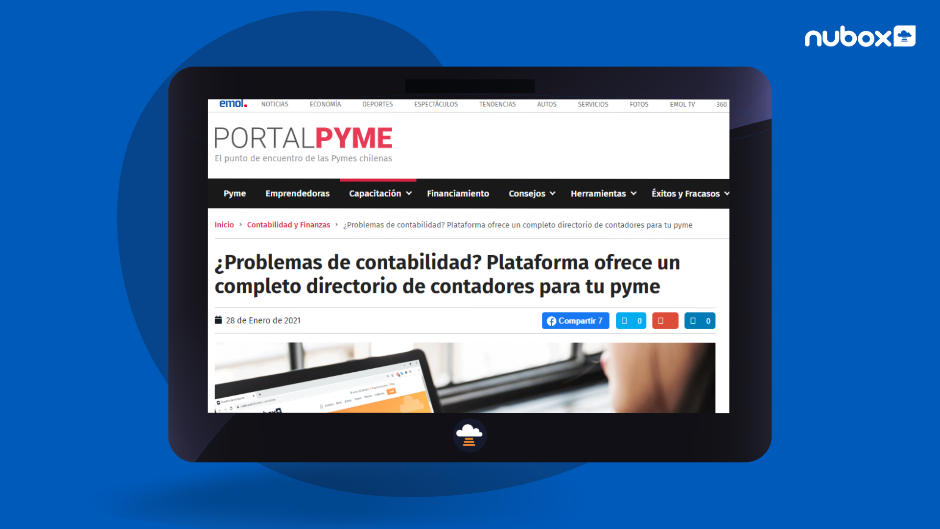Portal Pyme destacó directorio de contadores