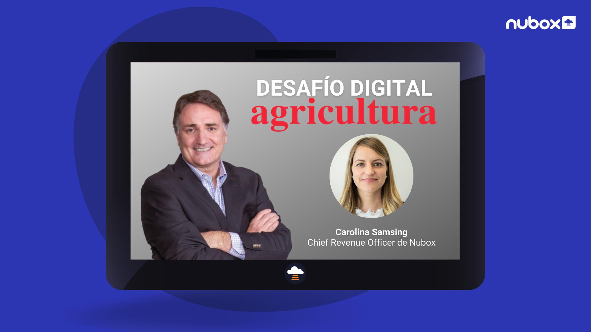 Carolina Samsing en Desafío Digital de Radio Agricultura