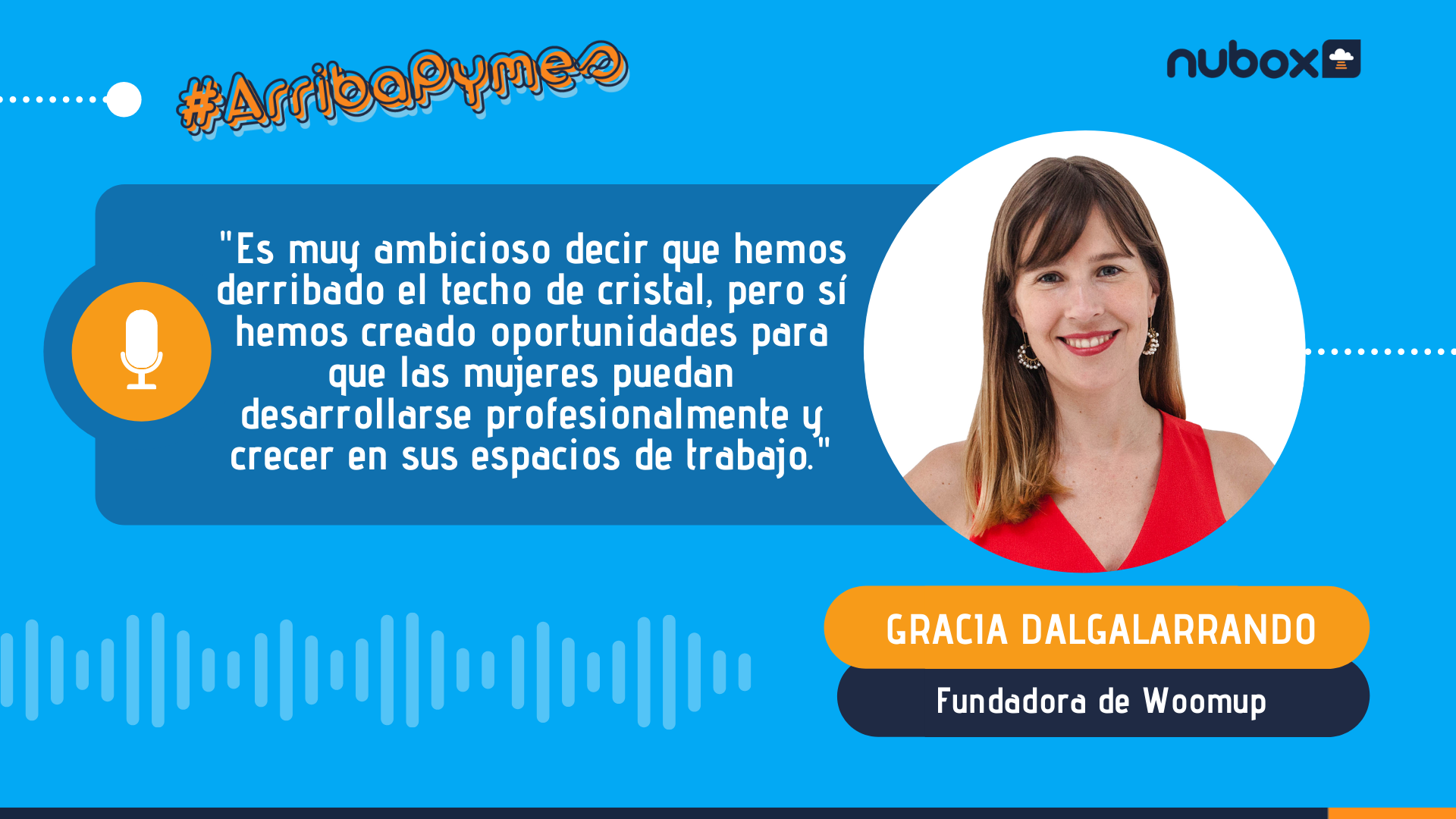 [Podcast #15] Gracia Dalgalarrando: Hemos creado oportunidades para que las mujeres puedan desarrollarse profesionalmente y crecer en sus espacios de trabajo