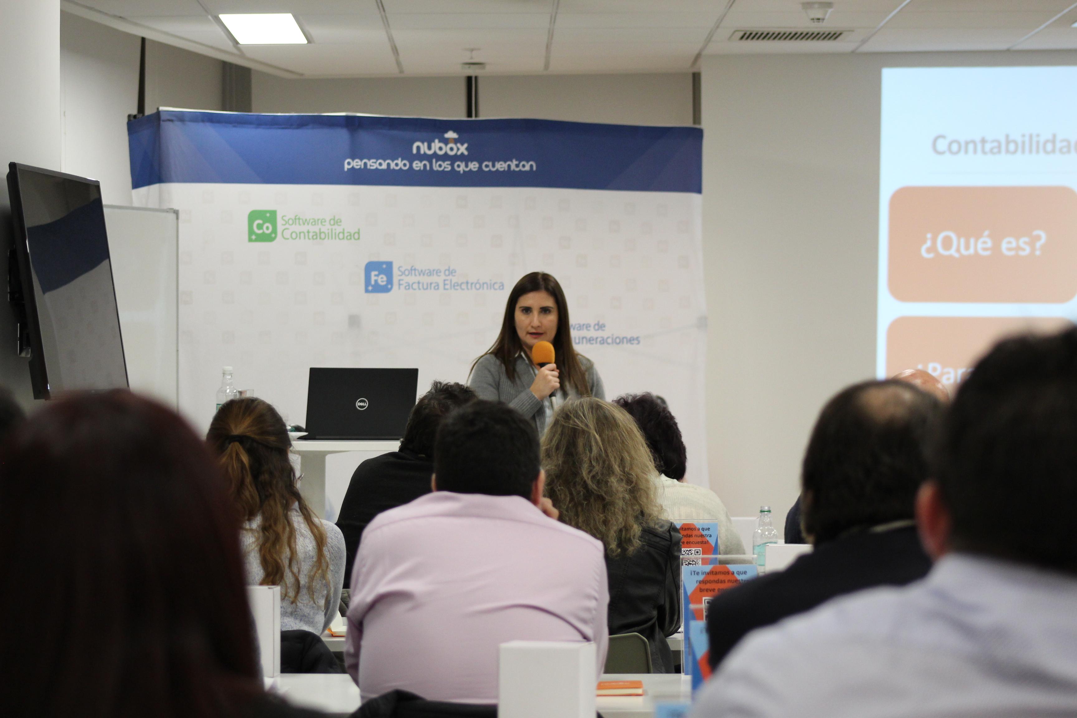 Nubox enseña a los empresarios sobre rentabilidad y flujo de efectivo
