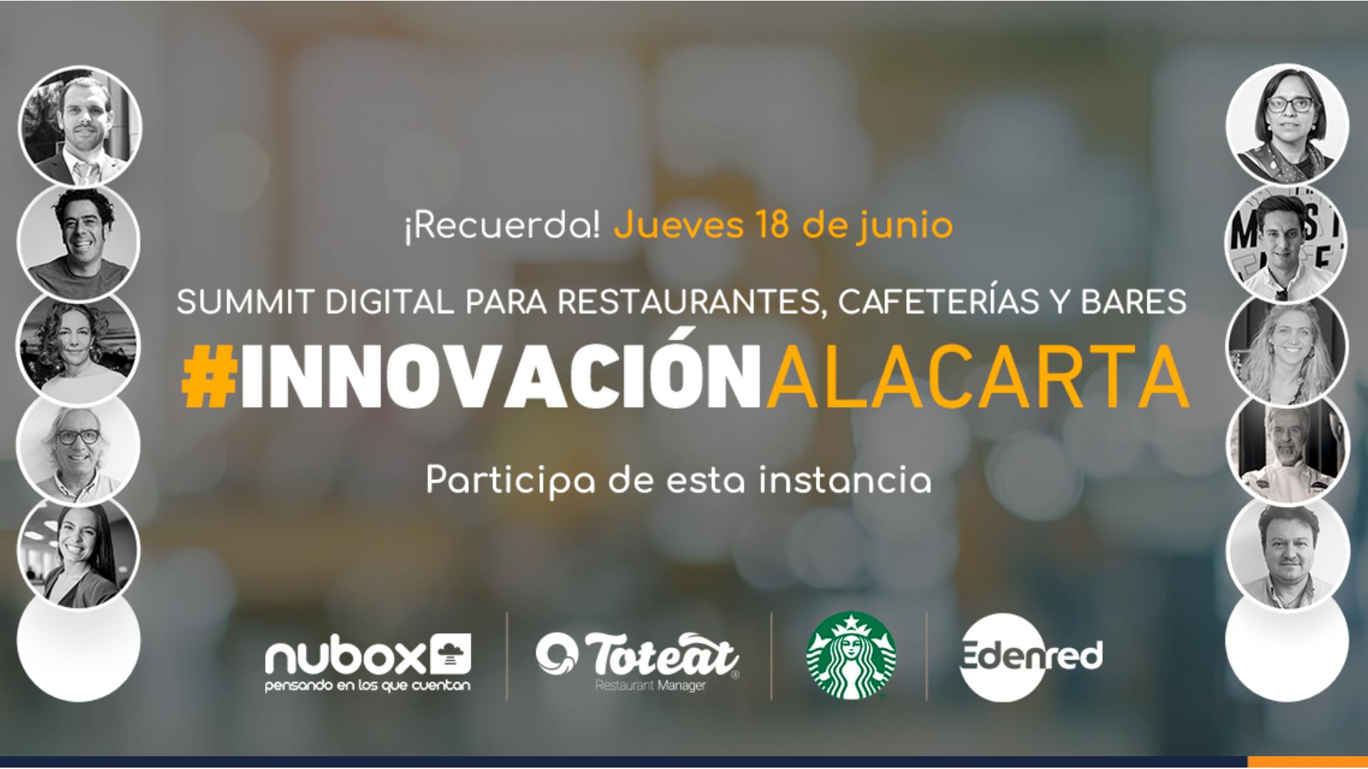 [Invitación Summit] #InnovaciónAlaCarta