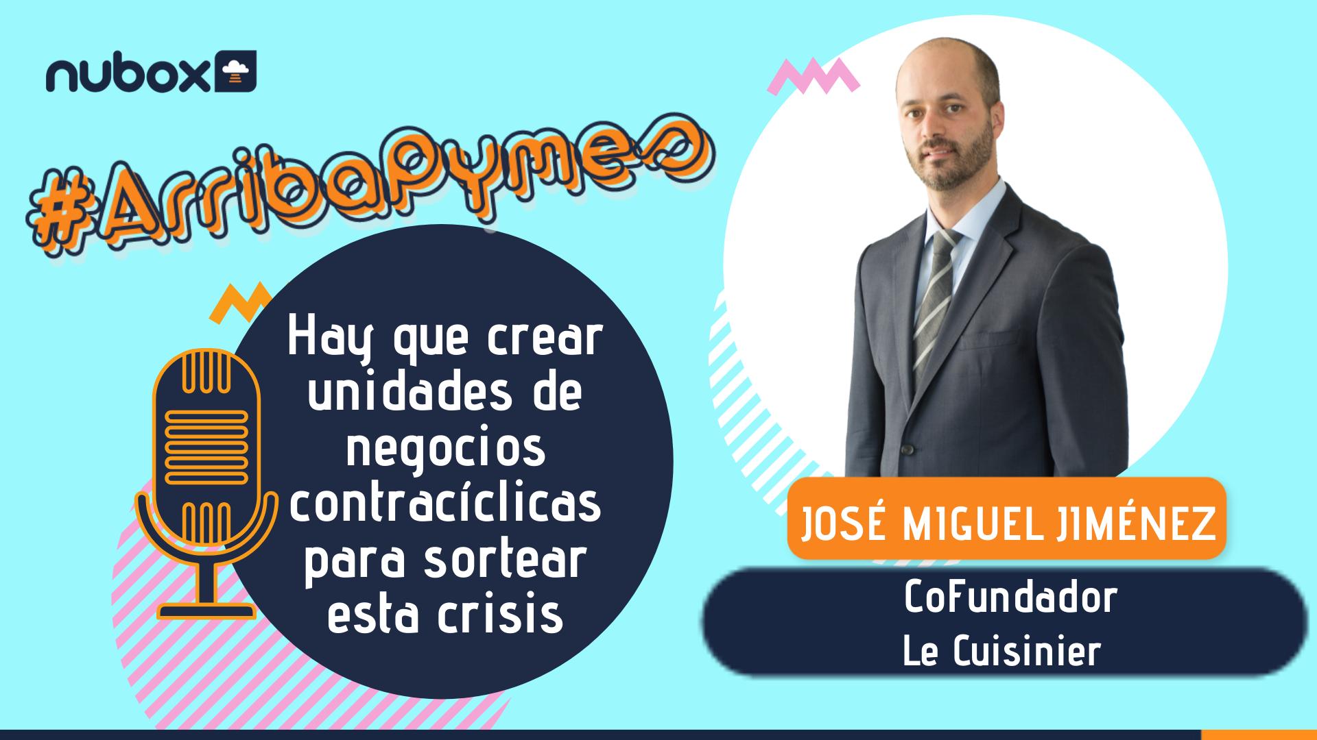 [Podcast #4] José Miguel Jiménez: Hay que crear unidades de negocio contracíclicas para sortear esta crisis