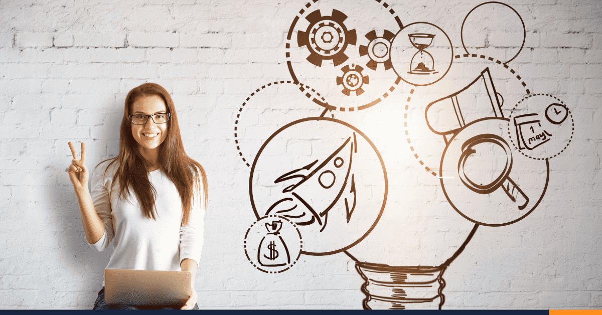 La brecha se va cerrando: 7 mujeres emprendedoras por cada 10 hombres