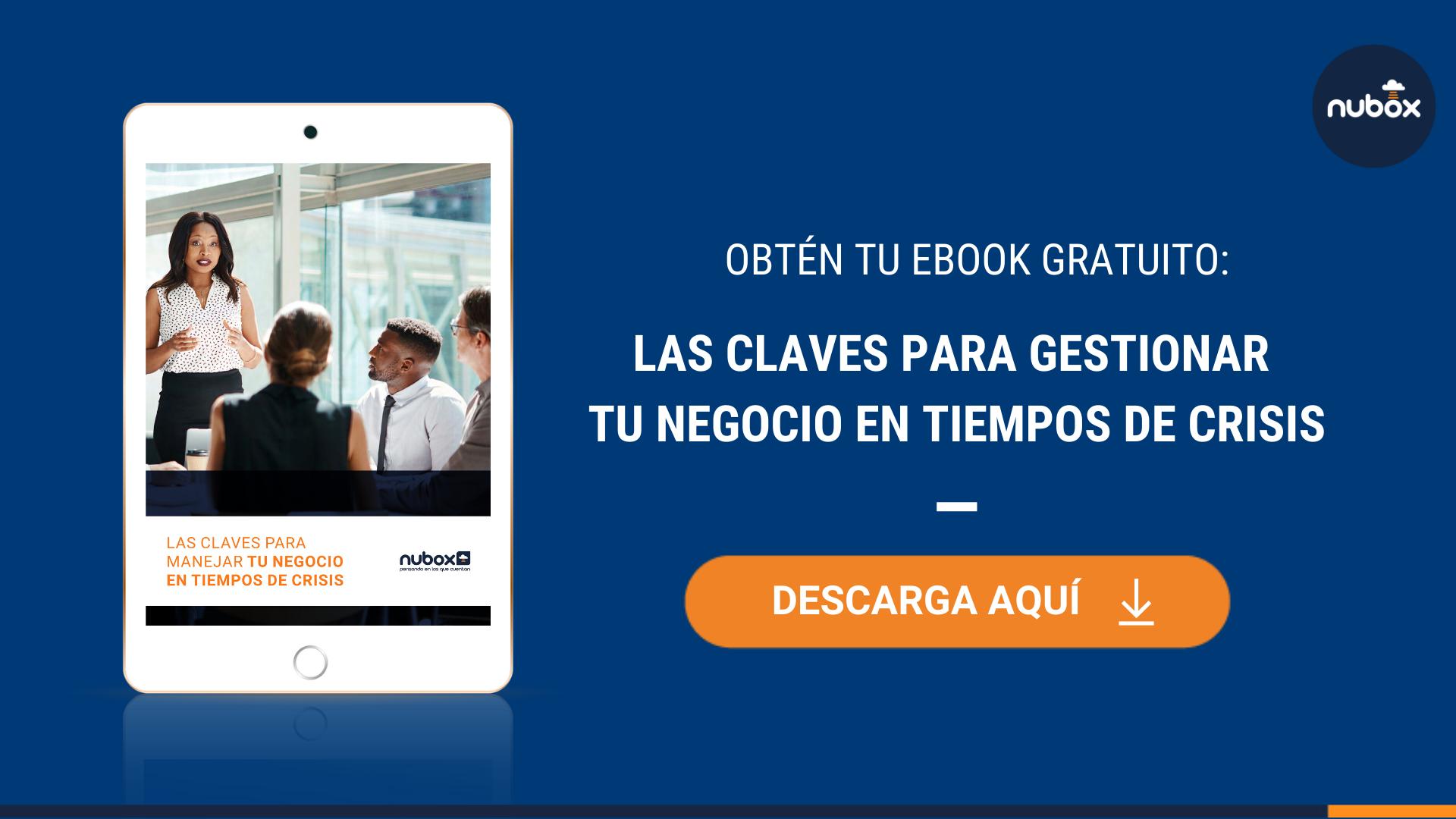[Ebook Gratuito] Las claves para gestionar tu negocio en tiempos de crisis