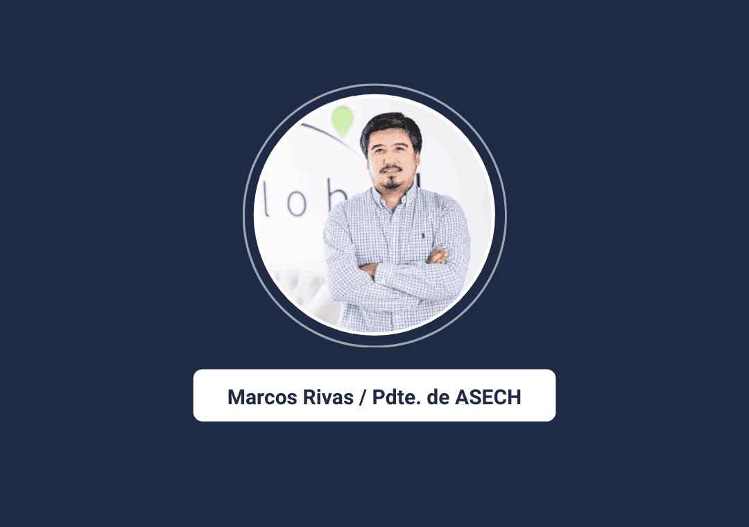 Marcos Rivas, Presidente ASECH