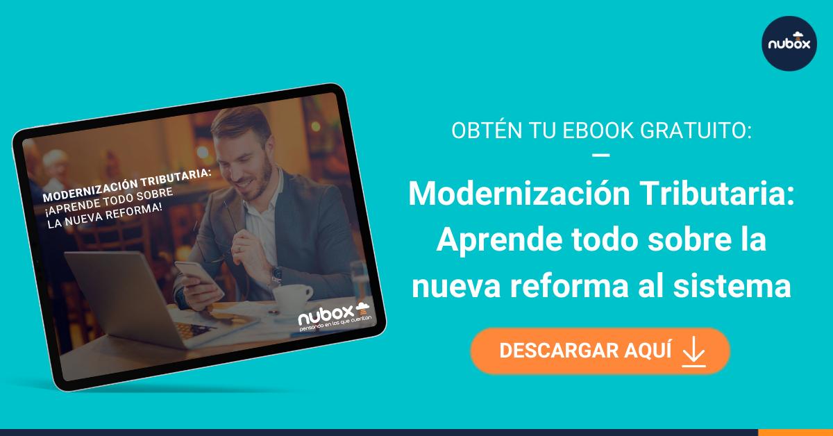 [Ebook] Modernización Tributaria: Las claves de la nueva reforma