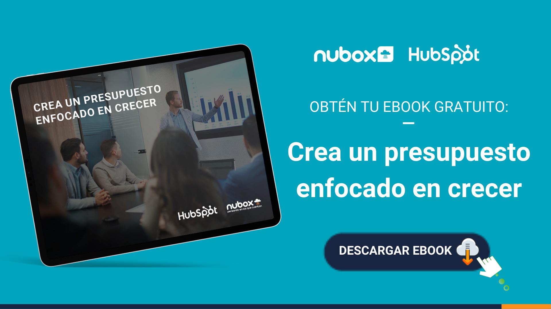 [Ebook Gratuito] Crea un presupuesto enfocado en crecer
