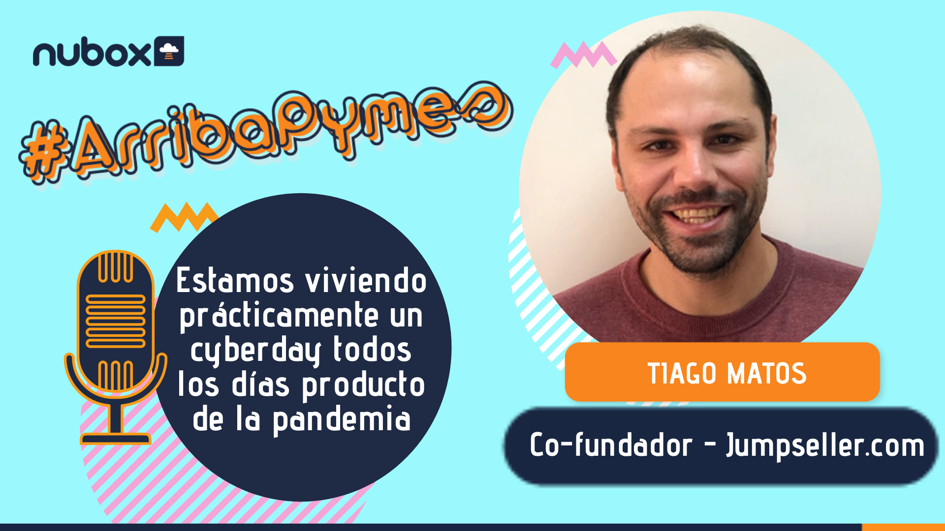 Tiago Matos: Estamos viviendo un cyberday todos los días producto de la pandemia
