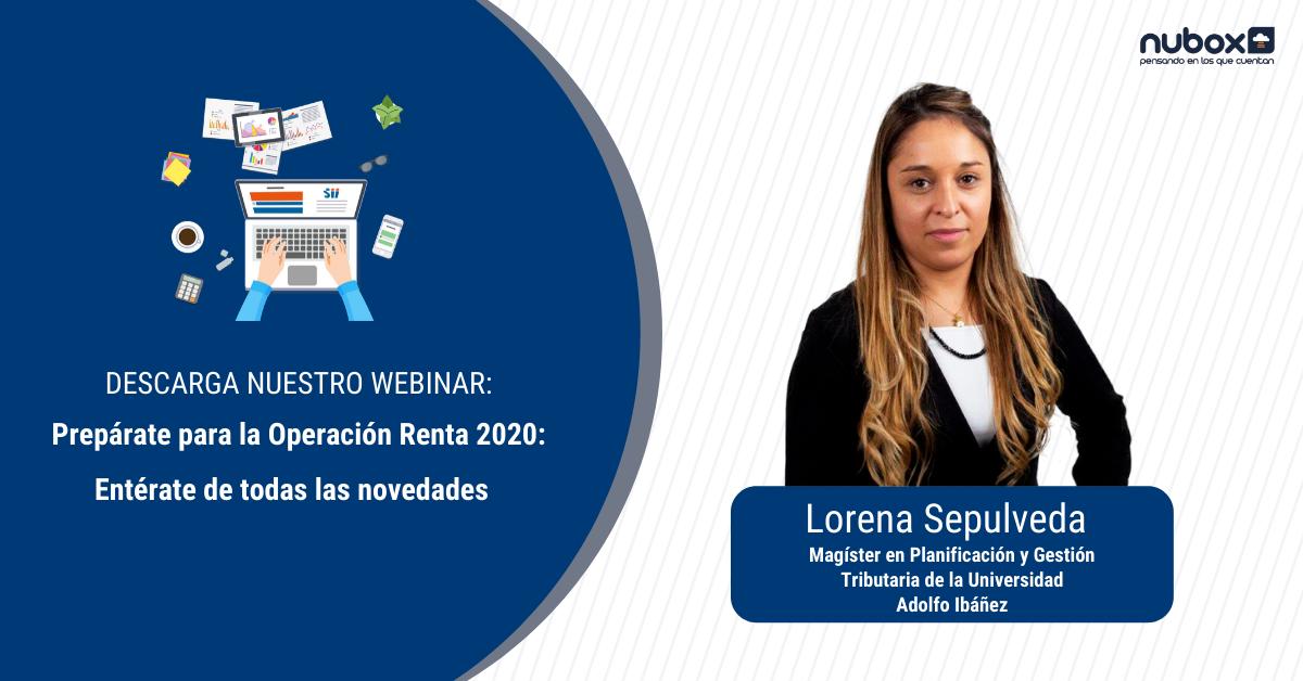 [Webinar gratuito]: Prepárate para la Operación Renta 2020