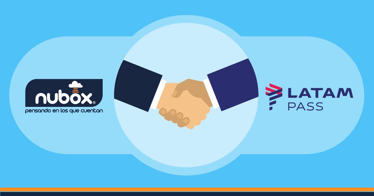 Alianza Nubox y LATAM PASS beneficiará clientes desde 2018