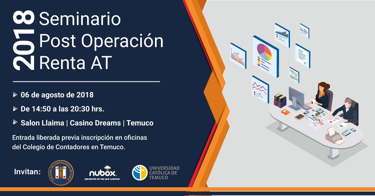 Nubox organiza Seminario post Operación Renta en Temuco